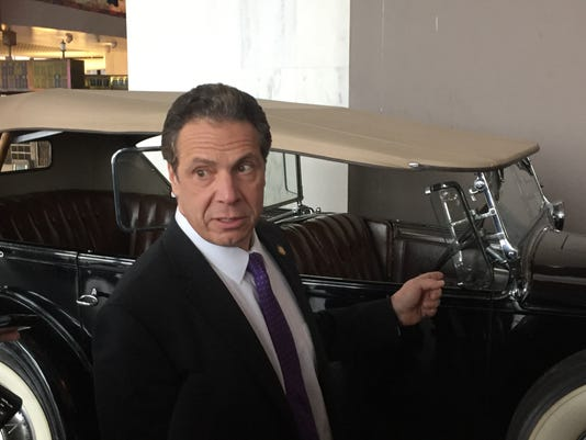 Cuomo and FDR's Packard