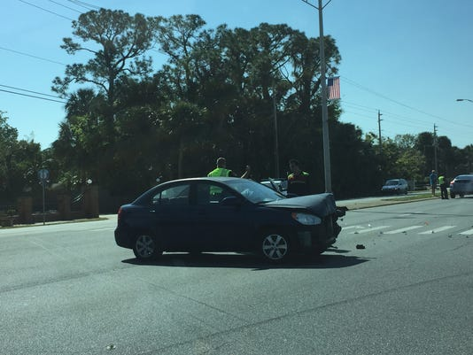 Crash in Titusville
