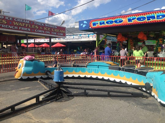 Keansburg Amusement Park has vintage kiddie rides dating