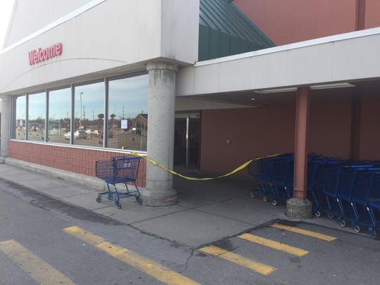 The Meijer at 5125 W Saginaw Hwy, was temporarily closed