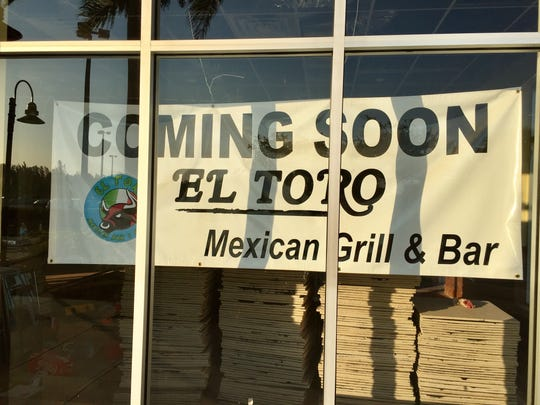 In northwest Cape Coral, a sign is up for El Toro Mexican Grill & Bar.