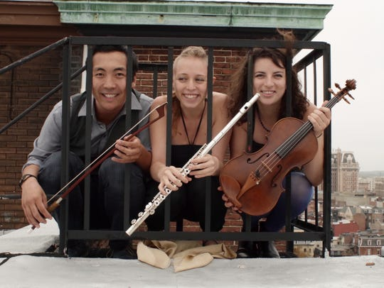 Trio Jinx, made up of graduate students from the Peabody