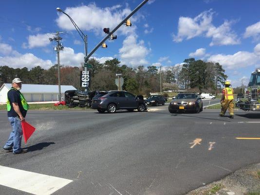 Sixty Foot Road crash 2