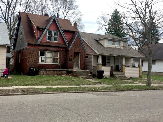 These two vacant houses are among those slated to be