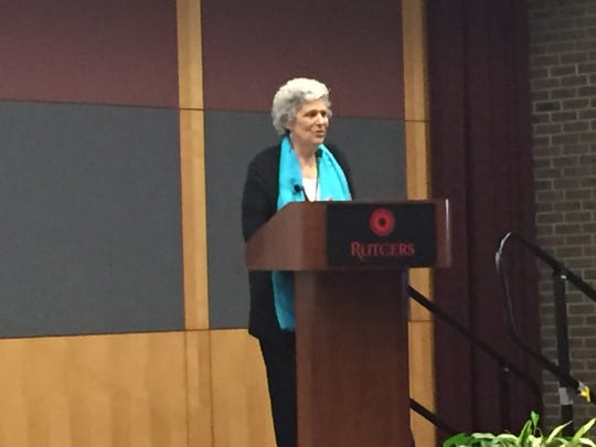 Discussing Paul Robeson's life and legacy of civil rights activism, Robeson's granddaughter Susan Robeson and singer, songwriter, actor, and social activist Harry Belafonte spoke at Rutgers University's  Second Annual Paul Robeson Lecture Series on April 5tgers universiuty