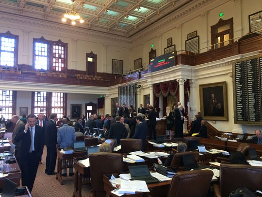 House members debate their version of the 2018-19 state budget in the Texas Capitol.