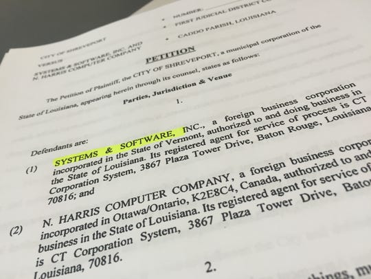The City of Shreveport filed a lawsuit against its
