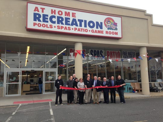 At Home Recreation opens its Brick store.