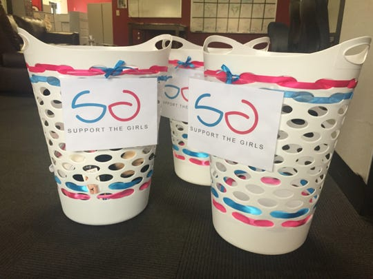 Donate feminine menstrual hygiene products or new/gently used bras to The Spectrum & Daily New's offices at 275 E. St. George Blvd. or at 369 N. 100 W. Ste. 1 in Cedar City.