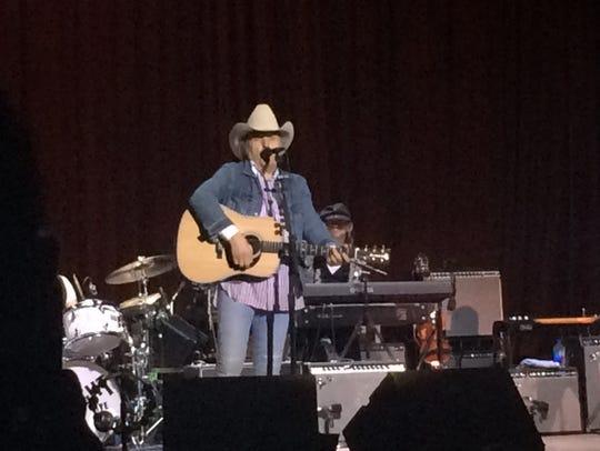 Dwight Yoakam performed April 7 at Memorial Auditorium,