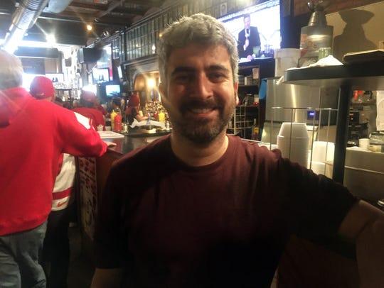 Vaughn Derderian, third generation owner of the Anchor