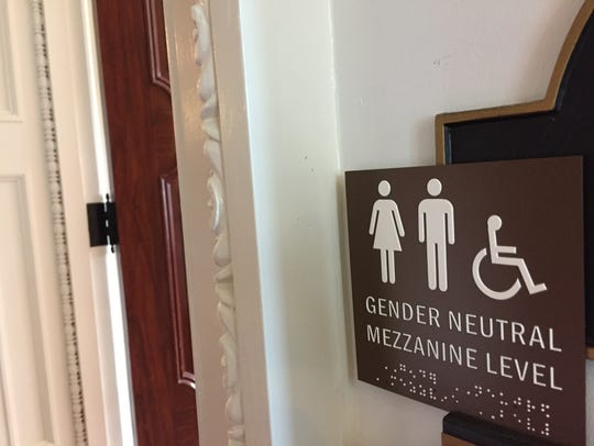 A sign at Vermont Lt. Gov. David Zuckerman's office