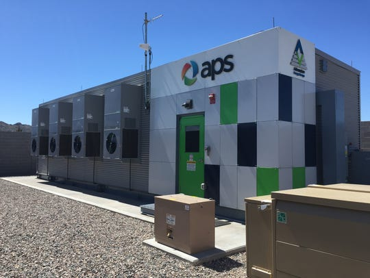 Arizona Public Service Co. is testing batteries in