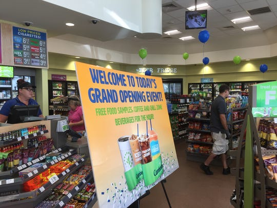 Cumberland Farms opened one of its prototype stores