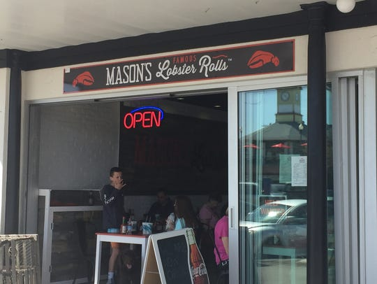 Mason's Famous Lobster Rolls is a new business on Rehoboth