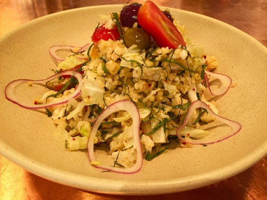 Tomato and Cabbage Tabbouleh at Avalon Cafe and Bakery