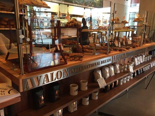 Avalon Cafe and Bakery has a an array of baked goods,