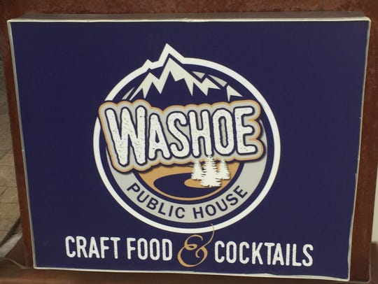 Brett Moseley, chef-owner of Washoe Public House, signed