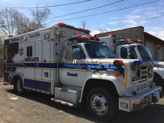Teaneck ambulance