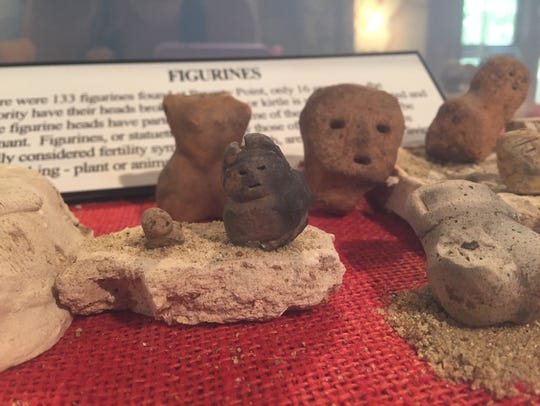 Ancient artifacts can be found inside the Poverty Point
