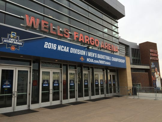 Wells Fargo Arena  hosted  the 2016  NCAA Tournament