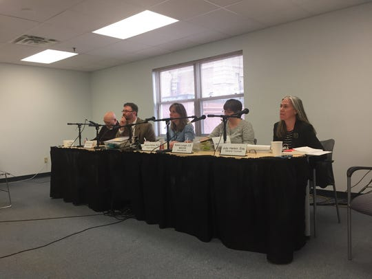 The Green Mountain Care Board listens to testimony