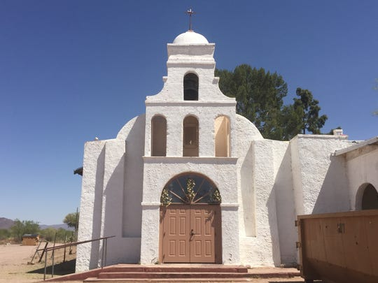 St. Catherine's Church in Topawa, Ariz., is cared for by the friars of San Solano Missions, which were established in 1912.