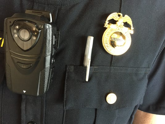 Rochester Police Department body-worn cameras