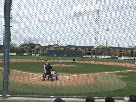 Reno swept Reed, 11-1 and 14-0, Saturday in Northern 4A baseball at Reno.
