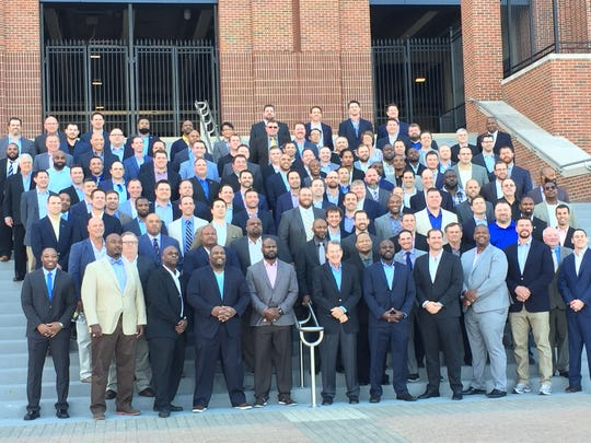 The 1997 Michigan football team at its 20th reunion