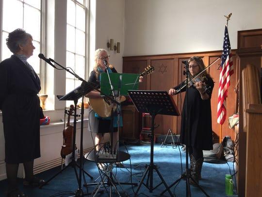 Congregation Sons of Israel AlleZingun Klezmer band