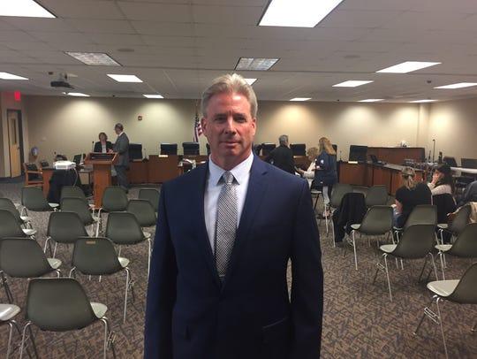 Suspended Clarkstown Police Chief Michael Sullivan