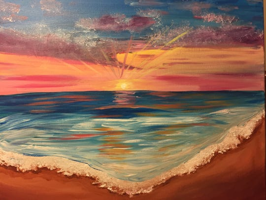 Tipsy Painting Party will guide you through painting