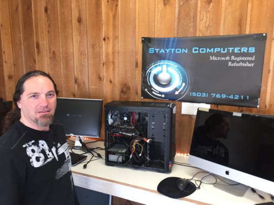 Walter Zeller has moved Stayton Computers from its former Ida Street digs to 1080 N. First, next to Big Town Hero and across from Chase Bank.