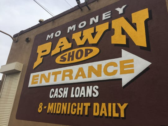 Mo Money Pawn Shop near 12th Street and Indian School