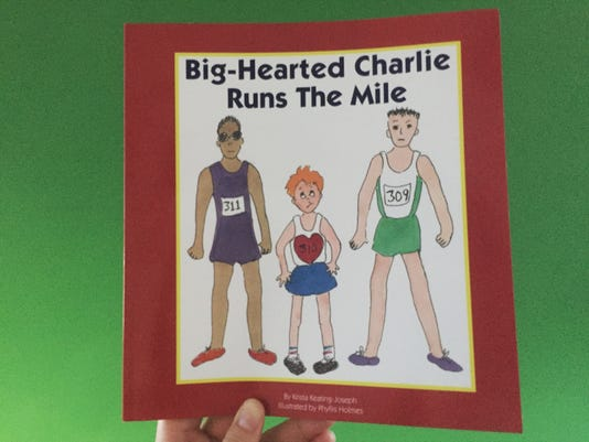 Big Hearted Charlie Runs the Mile book cover
