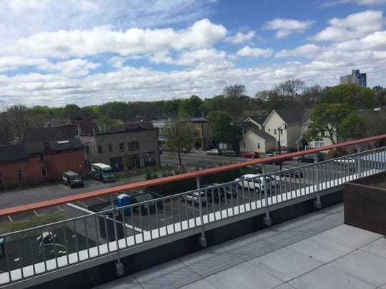 A view of South Wedge from the new Wedgepoint apartments