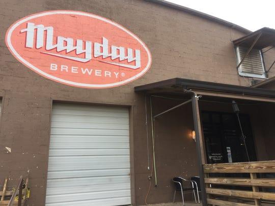 Hear live music Friday and Saturday at Mayday Brewery.