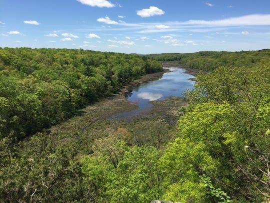 Mud Pond in Johnsonburg Swamp Nature Preserve is home