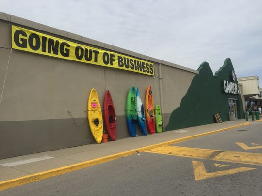 All products at Gander Mountain in Fort Gratiot are currently 10 to 20 percent off following the company's liquidation