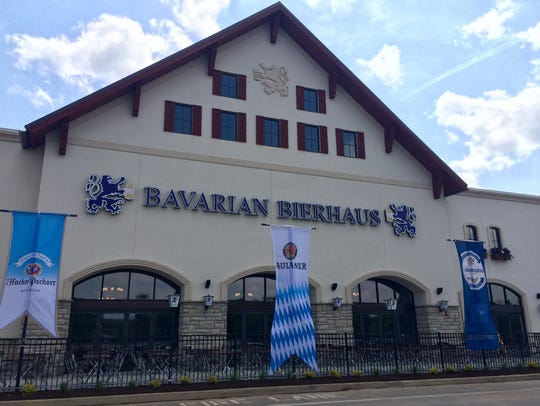 Bavarian Bierhaus has an outdoor patio with seating