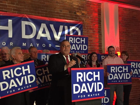 Mayor Richard David announced Thursday he'll be seeking