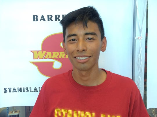 Indio senior Luis Barrera signed his national letter of intent to run cross country and track for CSU Stanislaus.