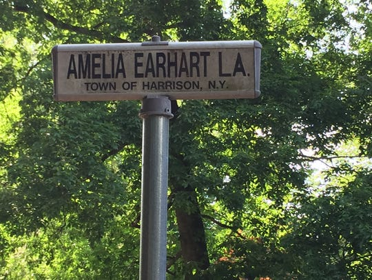 Amelia Earhart's home off Locust Avenue straddled the