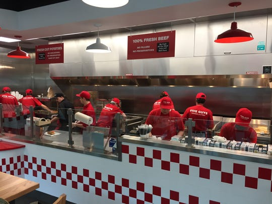 Five Guys opened a second restaurant in Vermont on