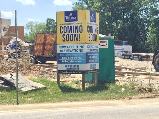 Three new apartment developments are just part of the construction happening in Union Township.