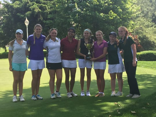 Players from the victorious Monmouth County squad at the 2015 Challenge Cup at Bella Vista in Marlboro.