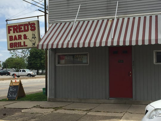 Fred's Bar & Grill closes Saturday.