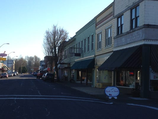 Stayton downtown