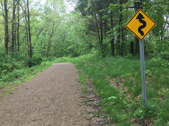 Twisty thoughts for a twisty path on the Calhoun County Trailway.